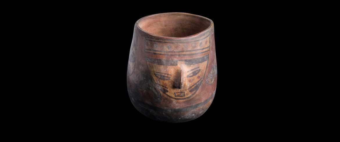 Ceramic jar, Peru, circa 500 AD