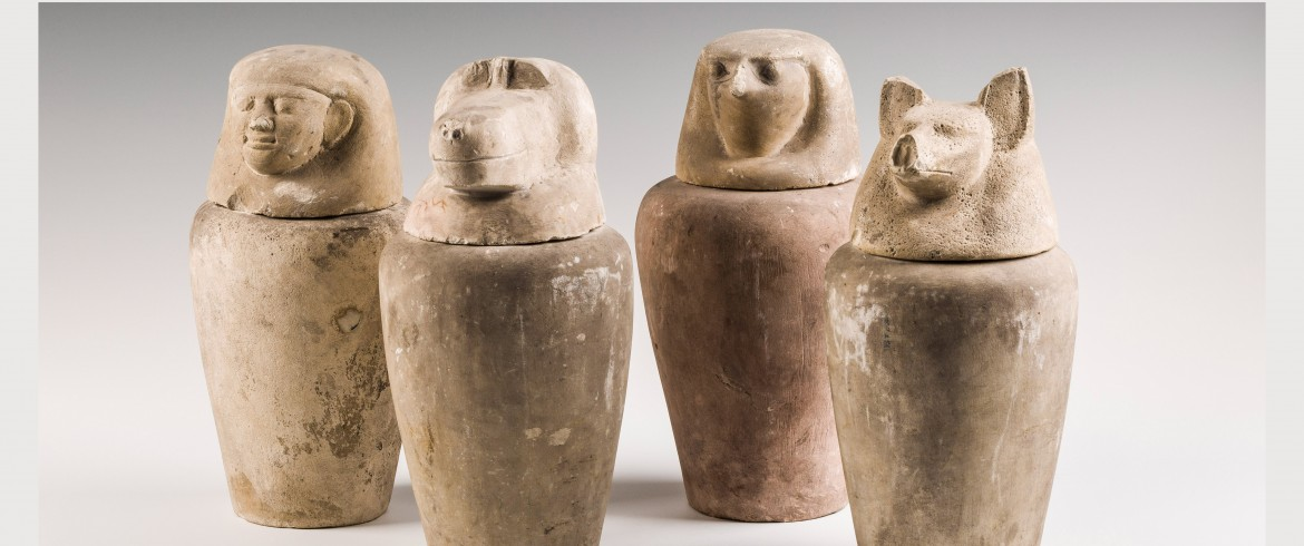 Canopic jars, Egyptian