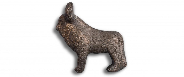 Bronze figure of the Apis bull, Egyptian