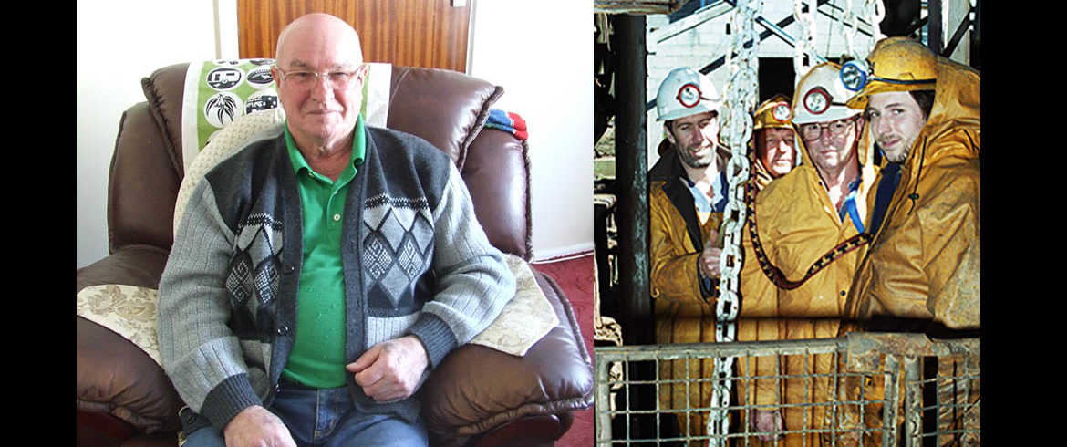 Robbie Risbridger – Surface Foreman, responsible for the shafts at South Crofty and Wheal Jane, 1967 - 1998